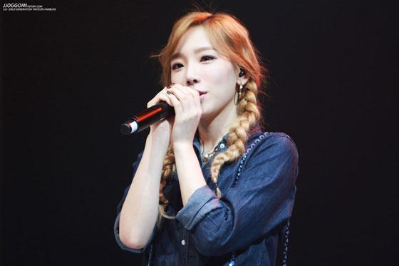 SNSD Taeyeon WAPOP Concert 141007