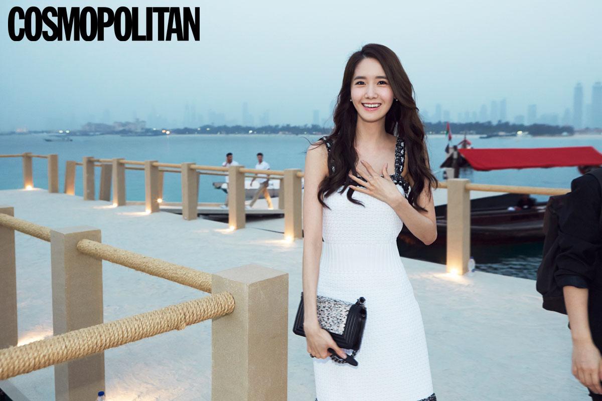 Yoona & Cosmopolitan in Dubai