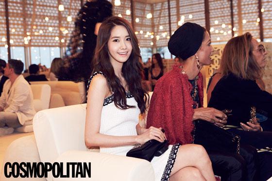 SNSD Yoona Cosmopolitan Magazine in Dubai
