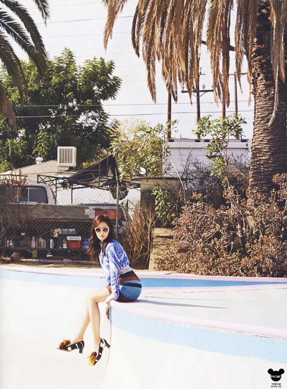 SNSD Yuri Cosmopolitan California