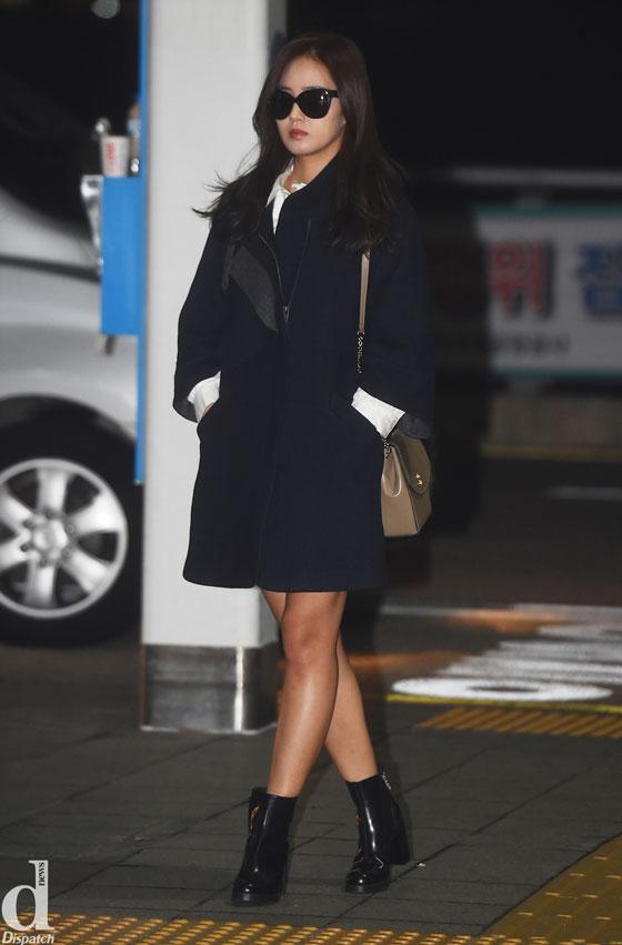 SNSD Yuri Incheon airport fashion 141009