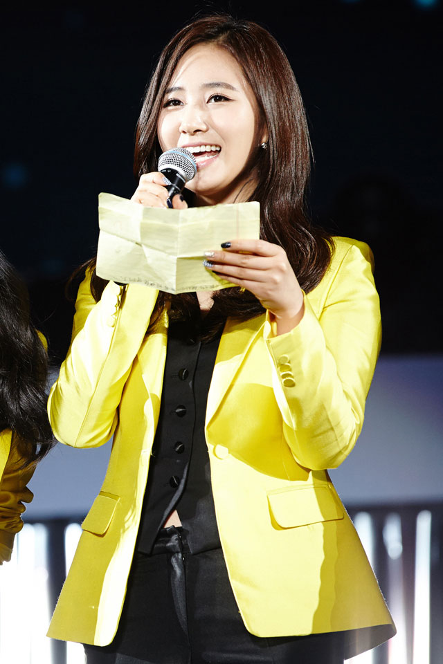 SNSD Yuri 1st Fan Party in Nanjing