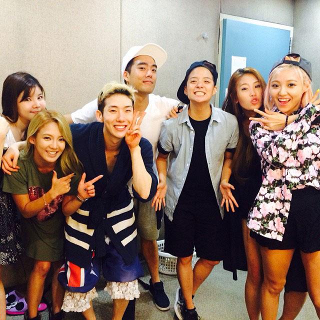 SNSD Hyoyeon Instagram friends 140821