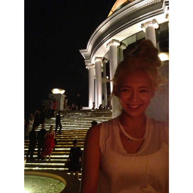 SNSD Hyoyeon Instagram Bangkok sirocco