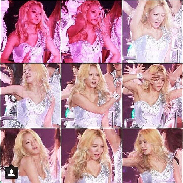Hyoyeon Instagram Japan Arena Tour