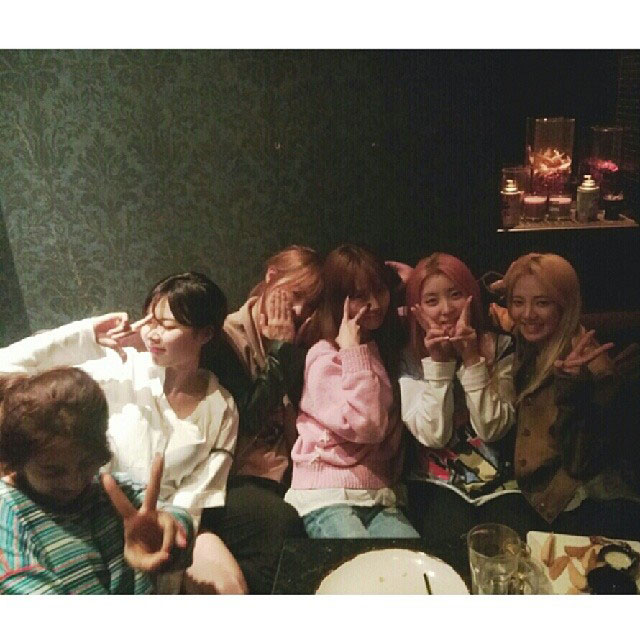 SNSD Hyoyeon Instagram 4Minute party