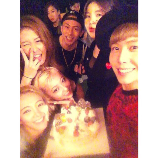 SNSD Hyoyeon 2014 birthday party