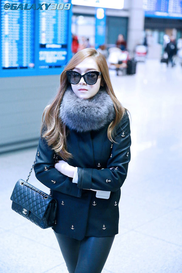 SNSD Jessica Incheon Airport fashion 141123