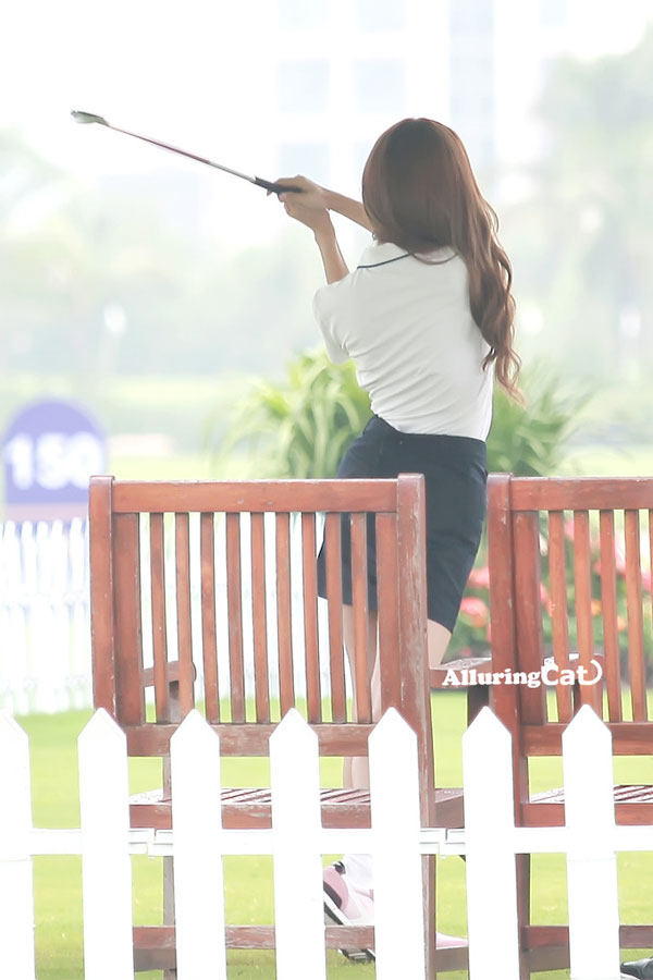 Jessica Jung Mission Hills World Celebrity Pro-Am