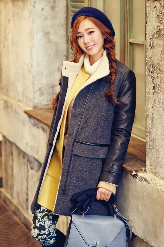 SNSD Jessica SOUP clothing 2014 FW ad