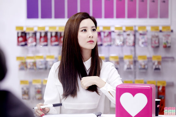 SNSD Seohyun LG Uplus iPhone6 fansign event