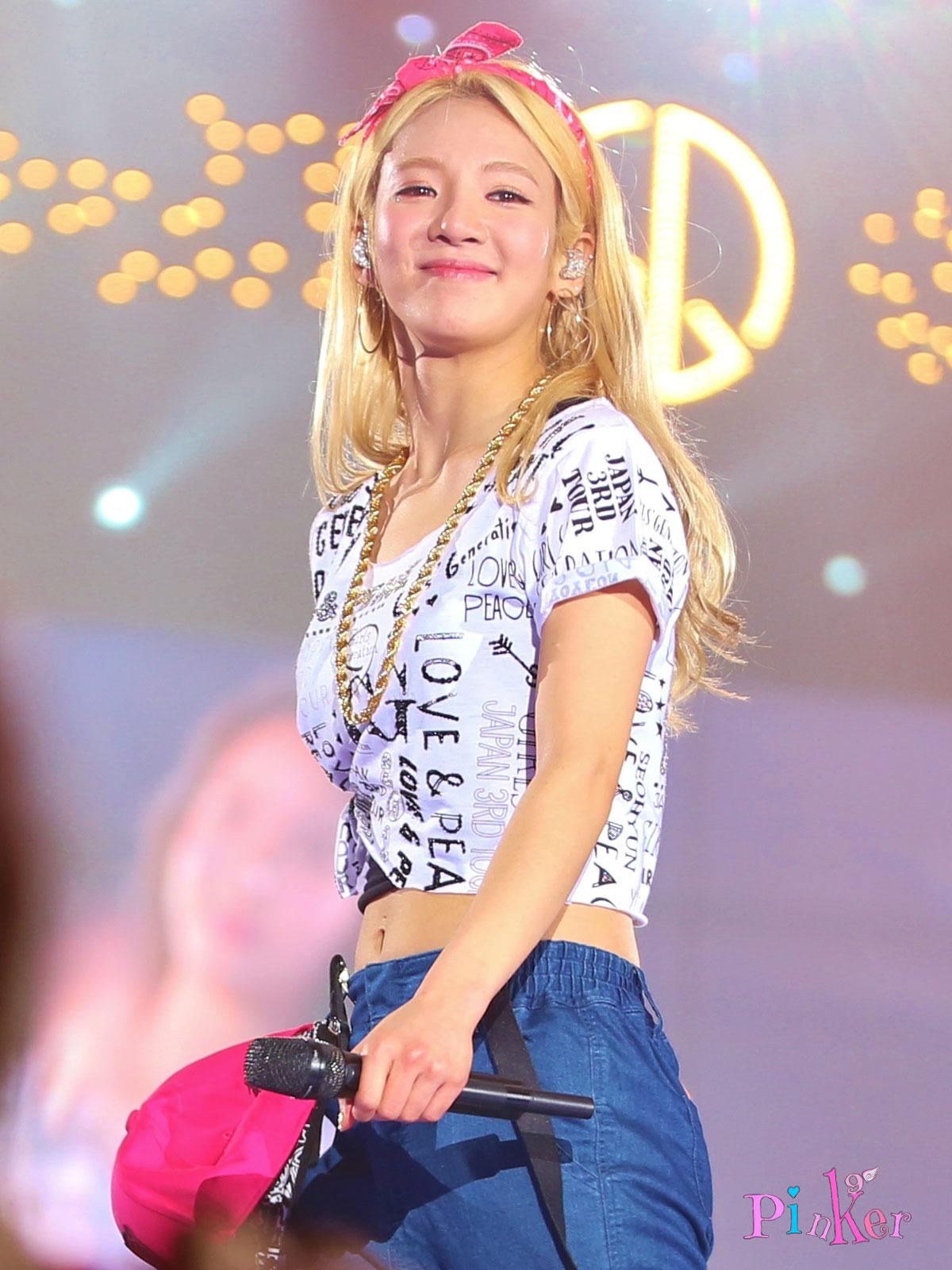 Hyoyeon @ GG Japan Tour 2014