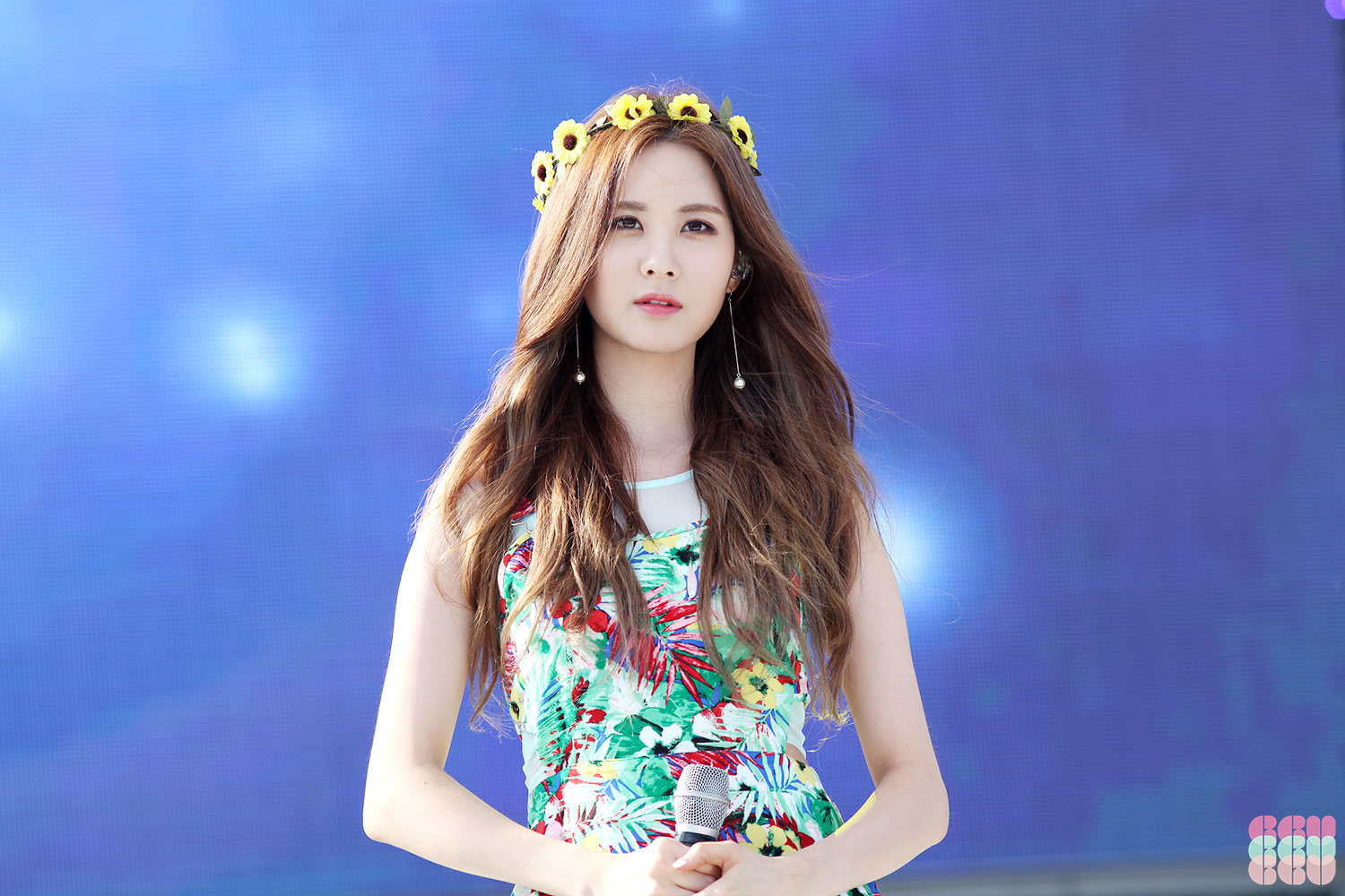 Seohyun performed with...
