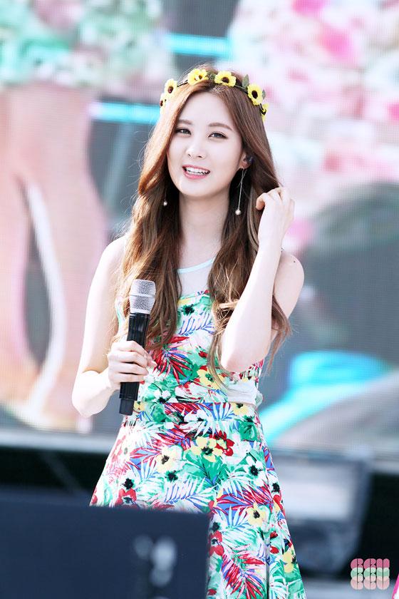 SNSD Seohyun Blue One Dream Festival