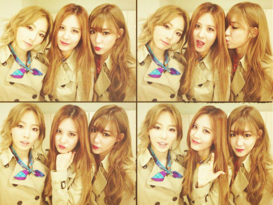 SNSD Seohyun Twitter TaeTiSeo trench coats