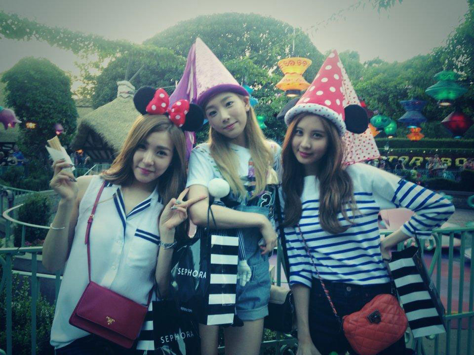 SNSD Seohyun Twitter TaeTiSeo Onstyle Disney