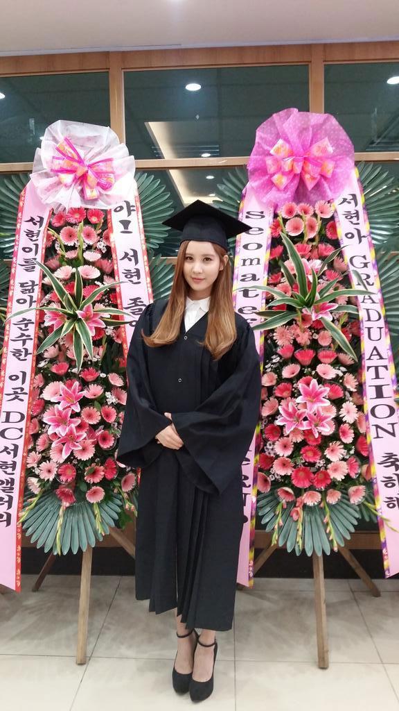 SNSD Seohyun Twitter university graduation