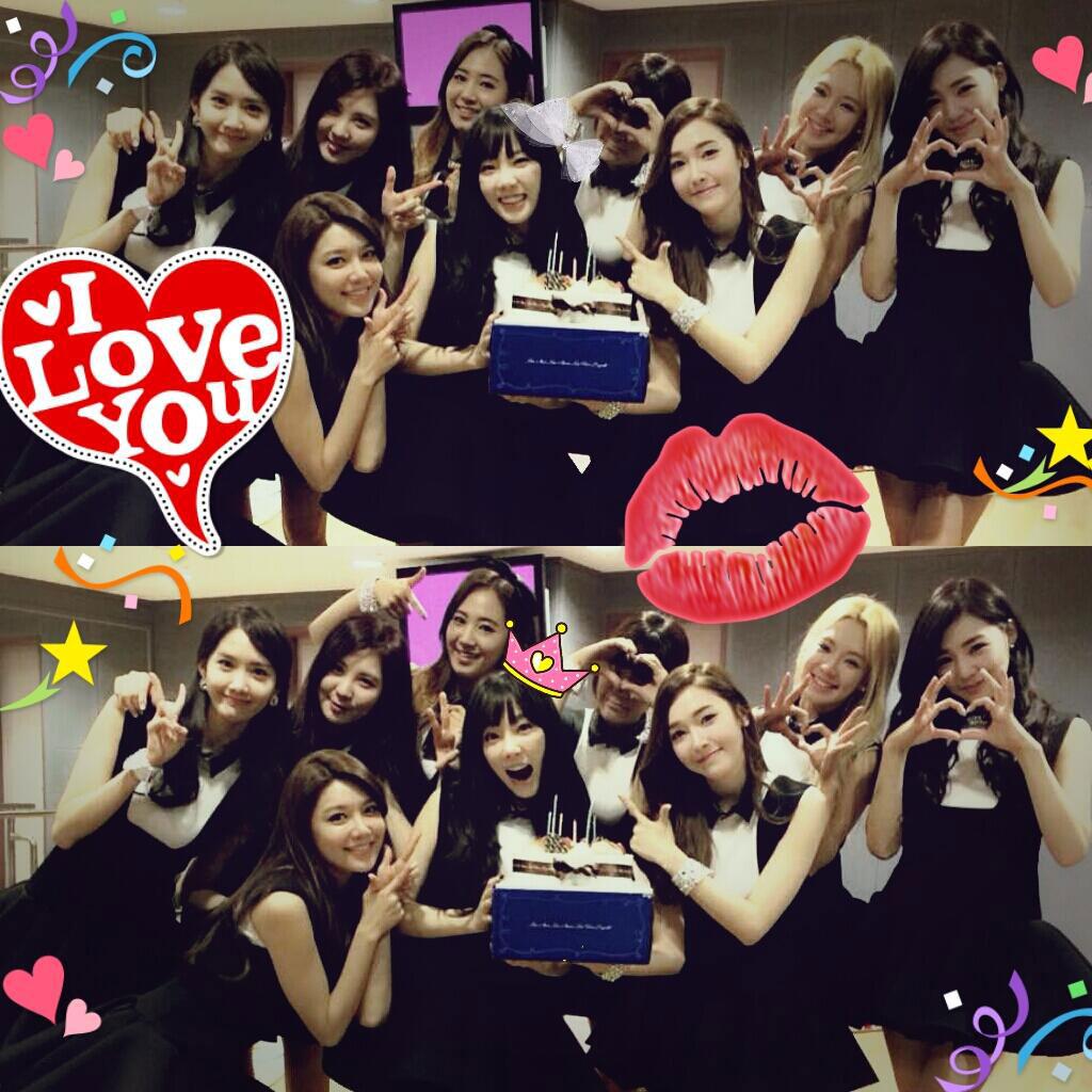 SNSD Seohyun Twitter Taeyeon birthday 2014