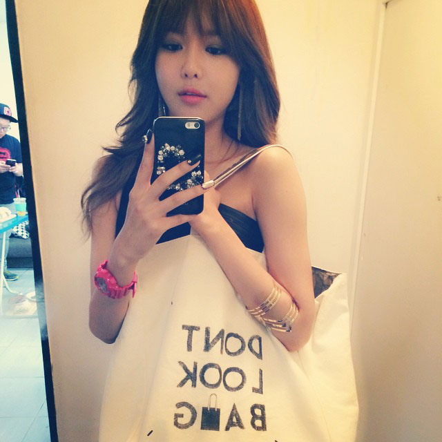 SNSD Sooyoung Instagram fashionista selca