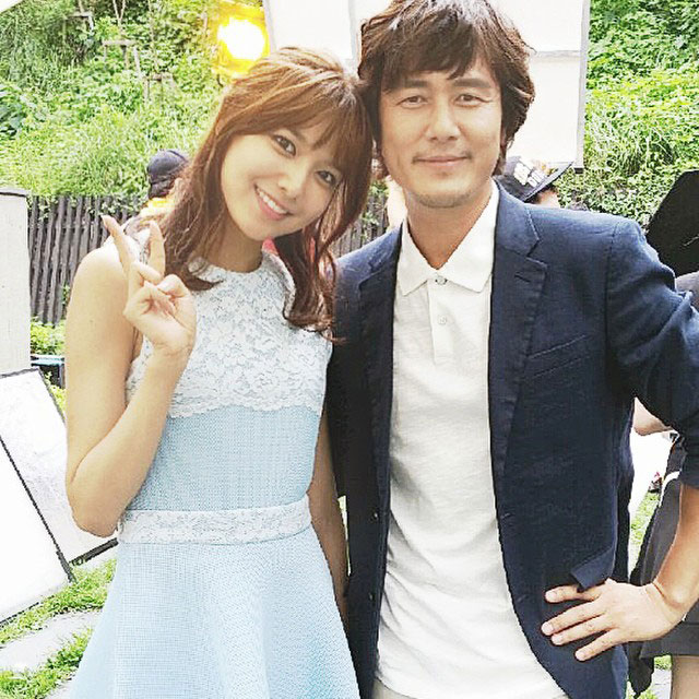 SNSD Sooyoung Instagram Spring Days main actor