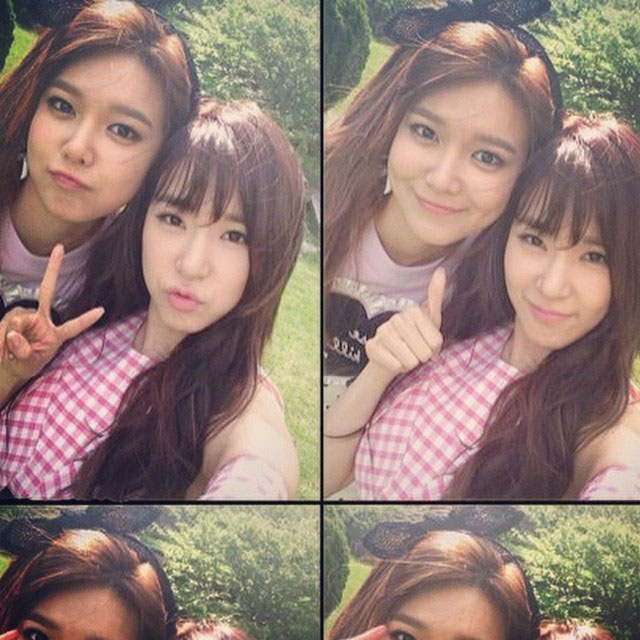 SNSD Sooyoung Tiffany Instagram Best Japan