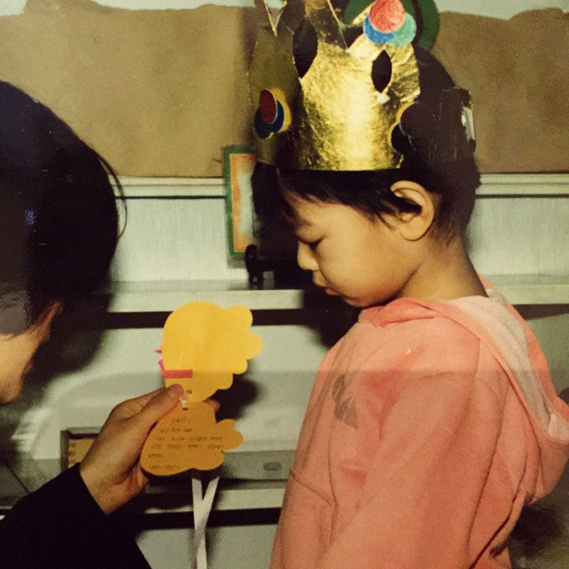 SNSD Sooyoung Instagram childhood photo
