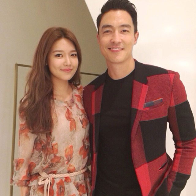 SNSD Sooyoung Instagram Daniel Henney