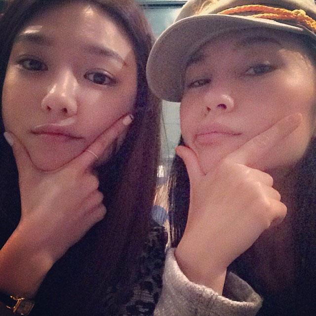 SNSD Sooyoung Japanese choreographer selca