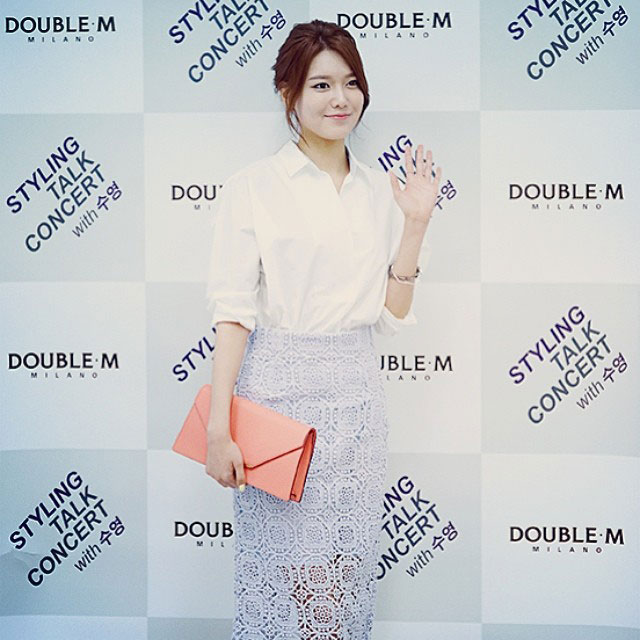 SNSD Sooyoung Instagram DoubleM style talk