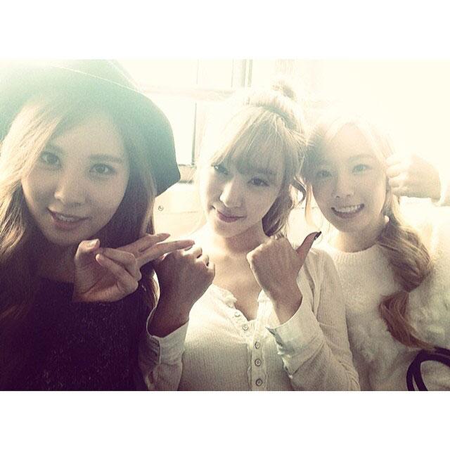 SNSD TaeTiseo Instagram comeback 2014