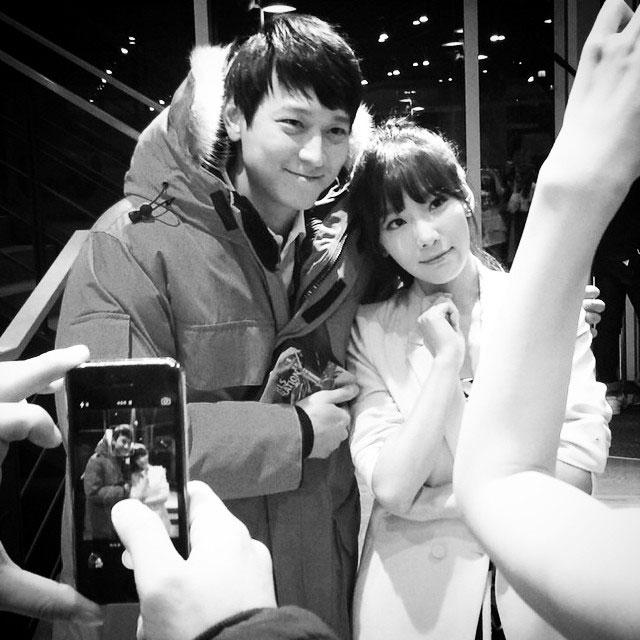 SNSD Taeyeon Instagram Kang Dong Won