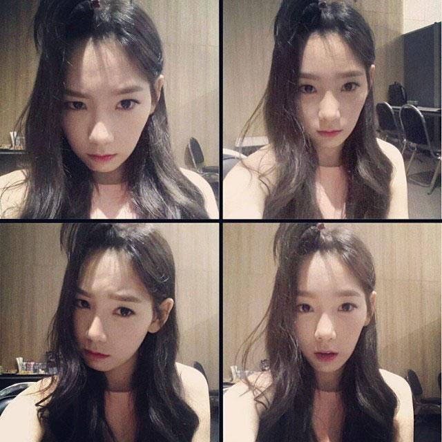 SNSD Taeyeon Instagram Thailand Bing selca