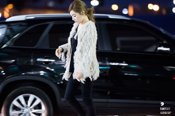 SNSD Tiffany Incheon Airport fashion 141024