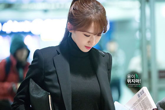 SNSD Yoona Ralph Lauren airport fashion 141107