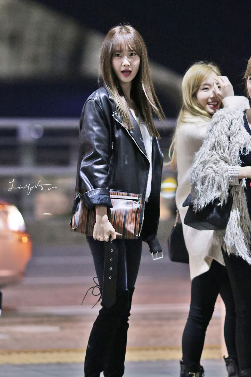 SNSD Yoona Incheon airport fashion 141024