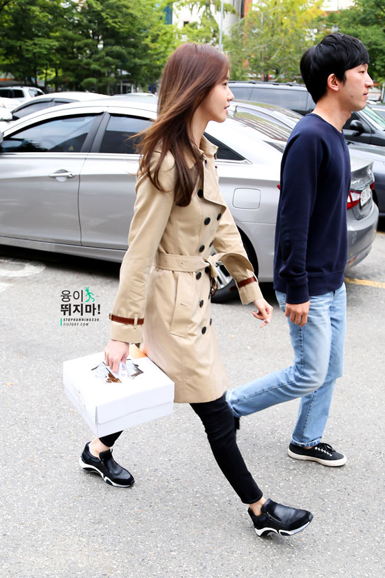 SNSD Yoona Music Bank cake delivery