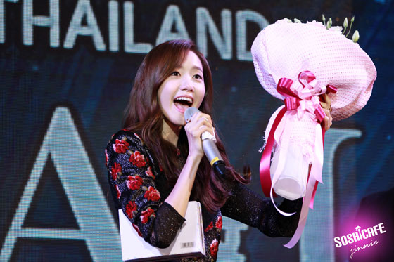 SNSD Yoona Prime Minister Thailand fanmeet event