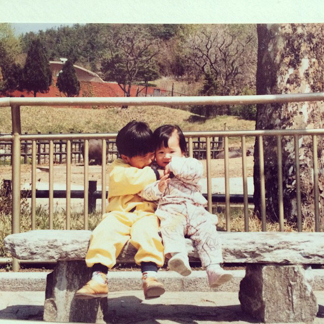 SNSD Yuri Instagram brother childhood