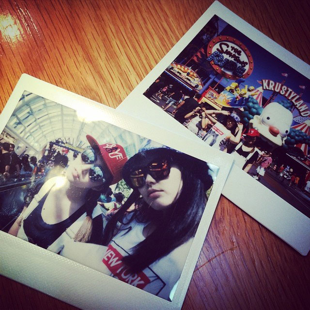 SNSD Yuri Instagram Bekah Los Angeles
