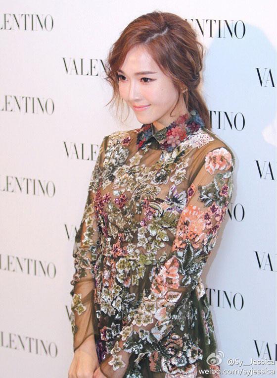 SNSD Jessica Valentino Weibo update
