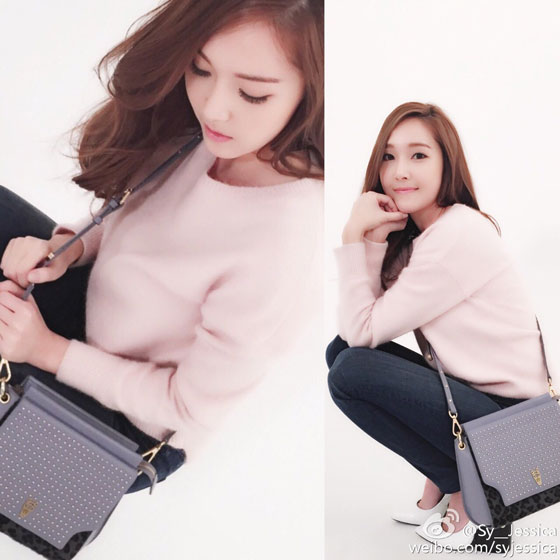 Jessica Lapalette clothing Weibo update