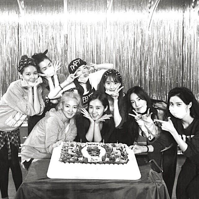 SNSD Yuri birthday 2014 Sunny IG
