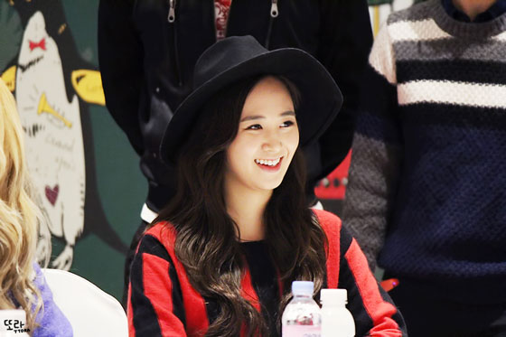 SNSD Yuri Lotte fan signing event 2014