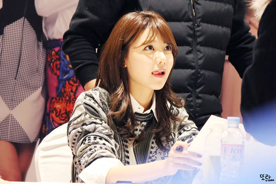 SNSD Sooyoung Lotte fan signing event 2014