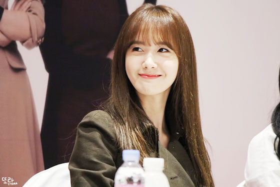 SNSD Yoona Lotte fan signing event 2014