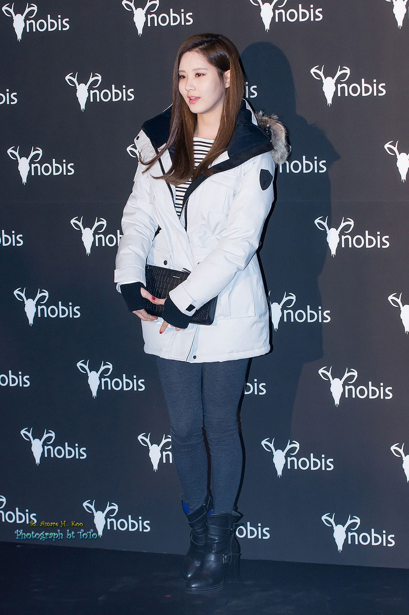 SNSD Seohyun Nobis Seoul promotion event