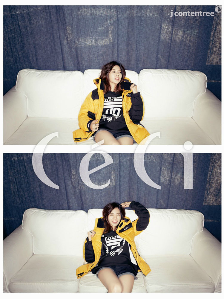 SNSD Sunny CeCi Magazine Feltics