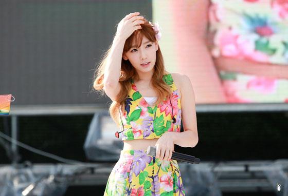 Girls Generation Taeyeon Blue One Dream Festival