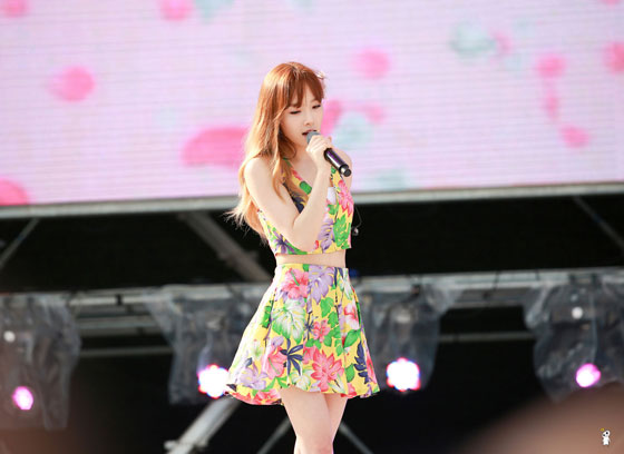 Girls Generation Taeyeon Blue One Dream Festival