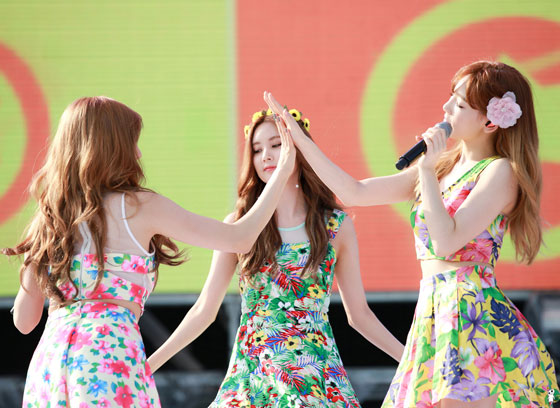 Girls Generation TTS Blue One Dream Festival